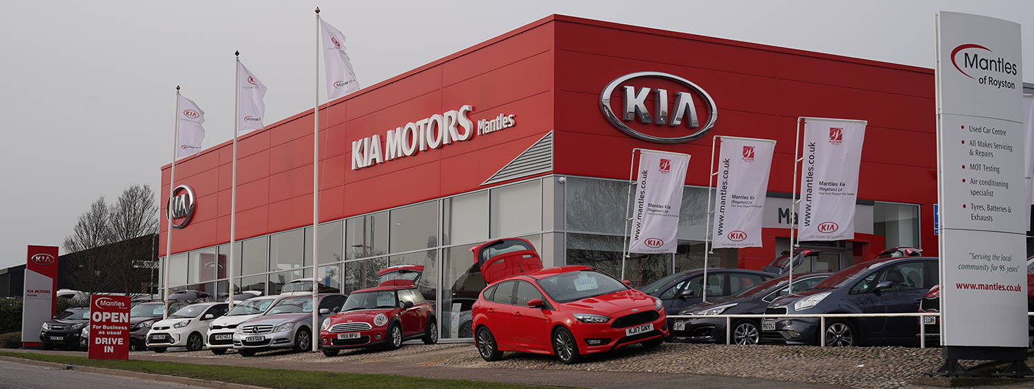 Mantles | KIA Motors | Car Dealer in Royston | All Makes Servicing & Repairs in Royston